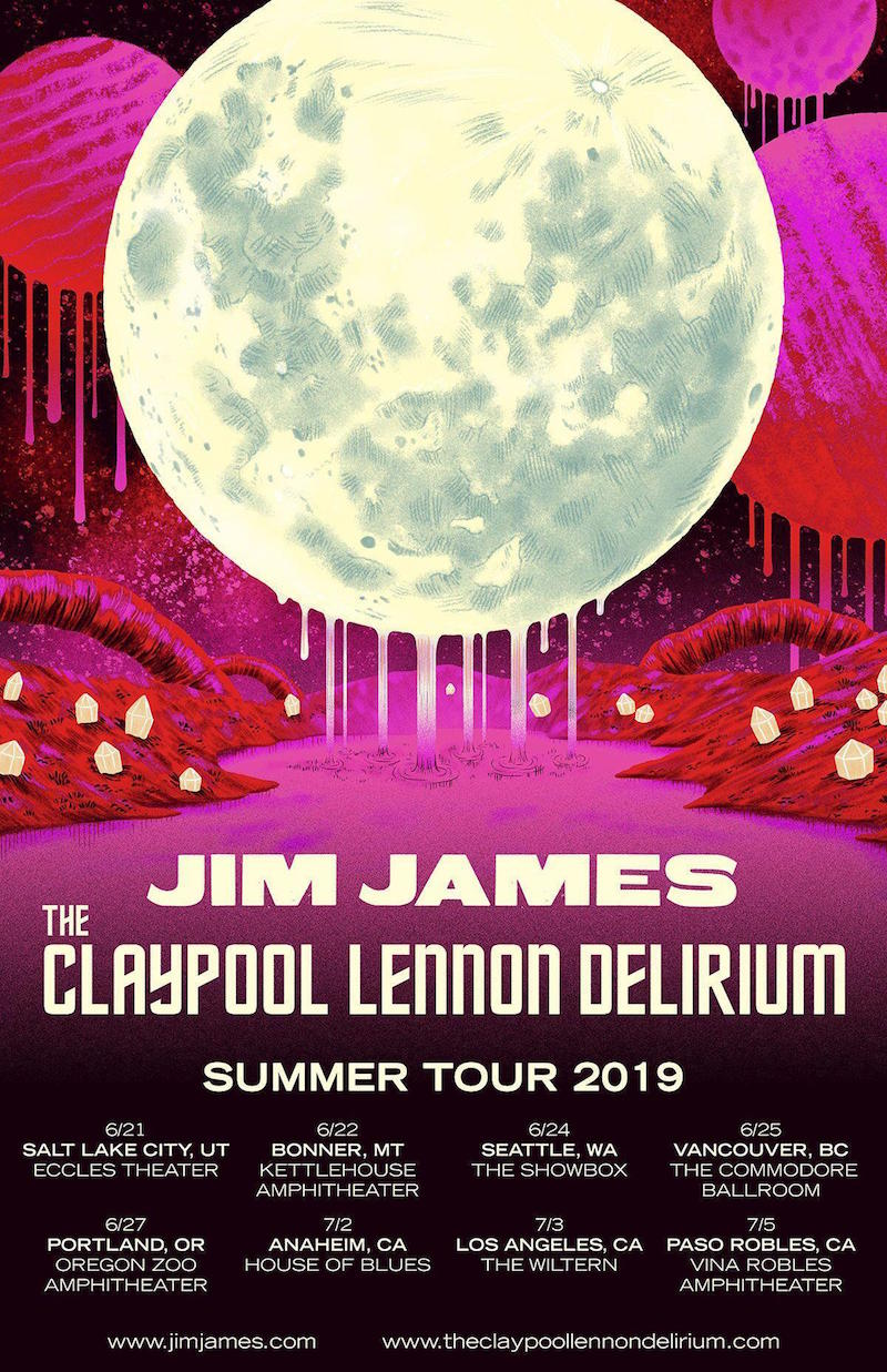jim james claypool lennon delirium tour dates