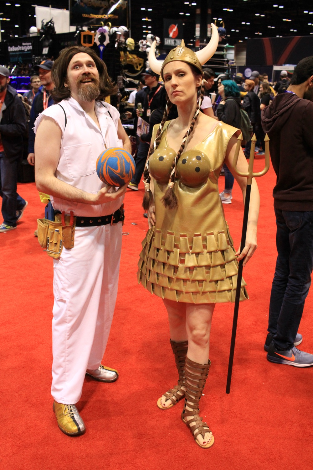 C2E2, Cosplay, Comic Books, Chicago, Convention, Con, Superheroes, The Big Lebowski