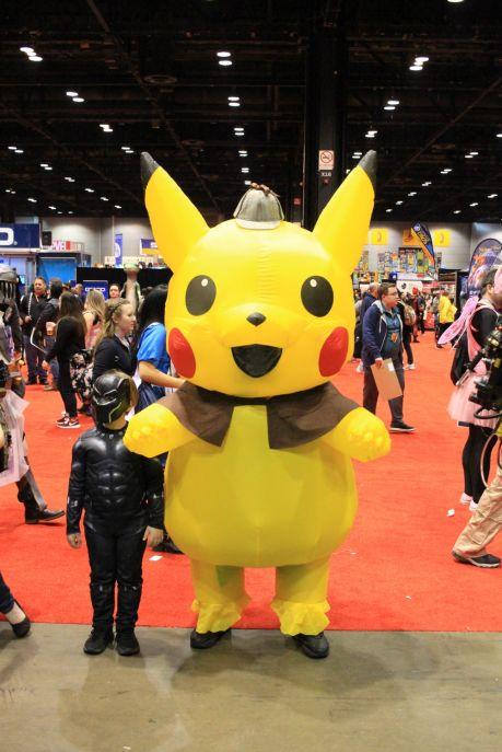 C2E2, Cosplay, Comic Books, Chicago, Convention, Con, Superheroes, Detective Pikachu