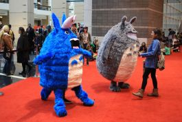 C2E2, Cosplay, Comic Books, Chicago, Convention, Con, Superheroes, Totoro