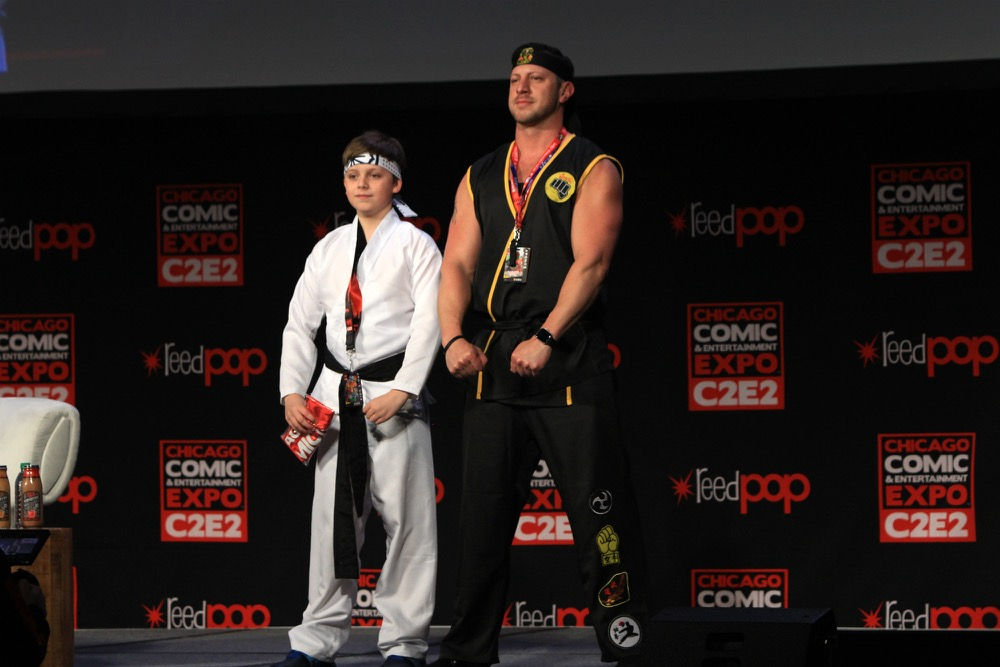 C2E2, Cosplay, Comic Books, Chicago, Convention, Con, Superheroes, Cobra Kai
