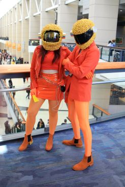 C2E2, Cosplay, Comic Books, Chicago, Convention, Con, Superheroes, Kraft Punk