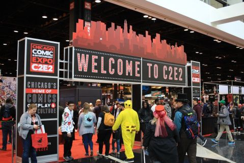 C2E2 2019, photo by Heather Kaplan