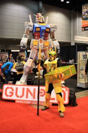 C2E2, Cosplay, Comic Books, Chicago, Convention, Con, Superheroes, Gundam