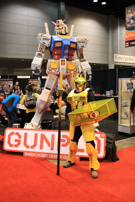 C2E2, Cosplay, Comic Books, Chicago, Convention, Con, Superheroes, Gundam