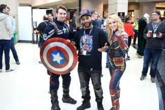 C2E2, Cosplay, Comic Books, Chicago, Convention, Con, Superheroes, Captain America