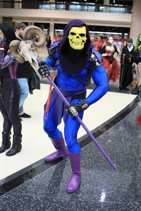 C2E2, Cosplay, Comic Books, Chicago, Convention, Con, Superheroes, Skeletor, He-Man