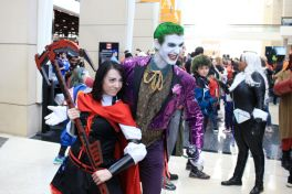 C2E2, Cosplay, Comic Books, Chicago, Convention, Con, Superheroes, Joker
