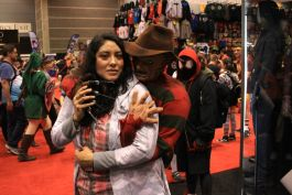 C2E2, Cosplay, Comic Books, Chicago, Convention, Con, Superheroes, Horror, A Nightmare on Elm Street, Freddy Krueger