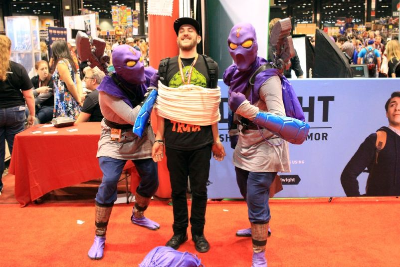 C2E2, Cosplay, Comic Books, Chicago, Convention, Con, Superheroes, Ninja Turtles