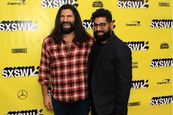 Kayvan Novak, Mousa Kraish, The Day Shall Come, SXSW, Red Carpet Photo, Heather Kaplan