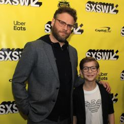 Good Boys, SXSW, Heather Kaplan, Red Carpet, Jakob Tremblay, Seth Rogen
