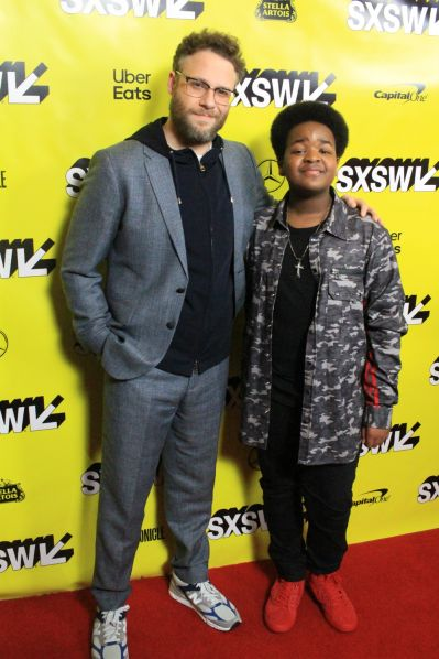 Good Boys, SXSW, Heather Kaplan, Red Carpet, Seth Rogen, Keith L. Williams