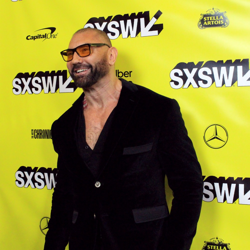 Dave Bautista, Stuber, SXSW, Red Carpet Photo, Heather Kaplan