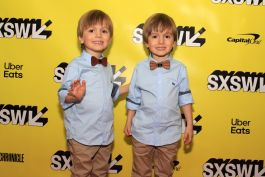 Hugo and Lucas Lavoie, Pet Sematary, SXSW, Red Carpet Photos, Heather Kaplan