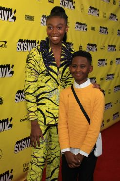 Us, Horror, Jordan Peele, Red Carpet Photo, SXSW 2019, Shahadi Wright Joseph, Evan Alex