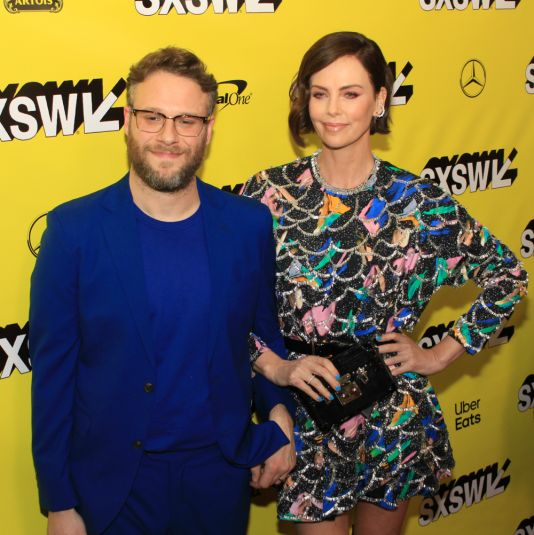 Long Shot, SXSW, SXSW, Red Carpet, Seth Rogen, Charlize Theron