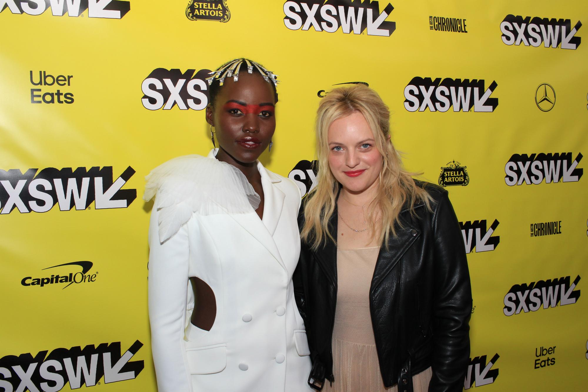 Us, Horror, Jordan Peele, Red Carpet Photo, SXSW 2019, Lupita Nyong'o, Elisabeth Moss