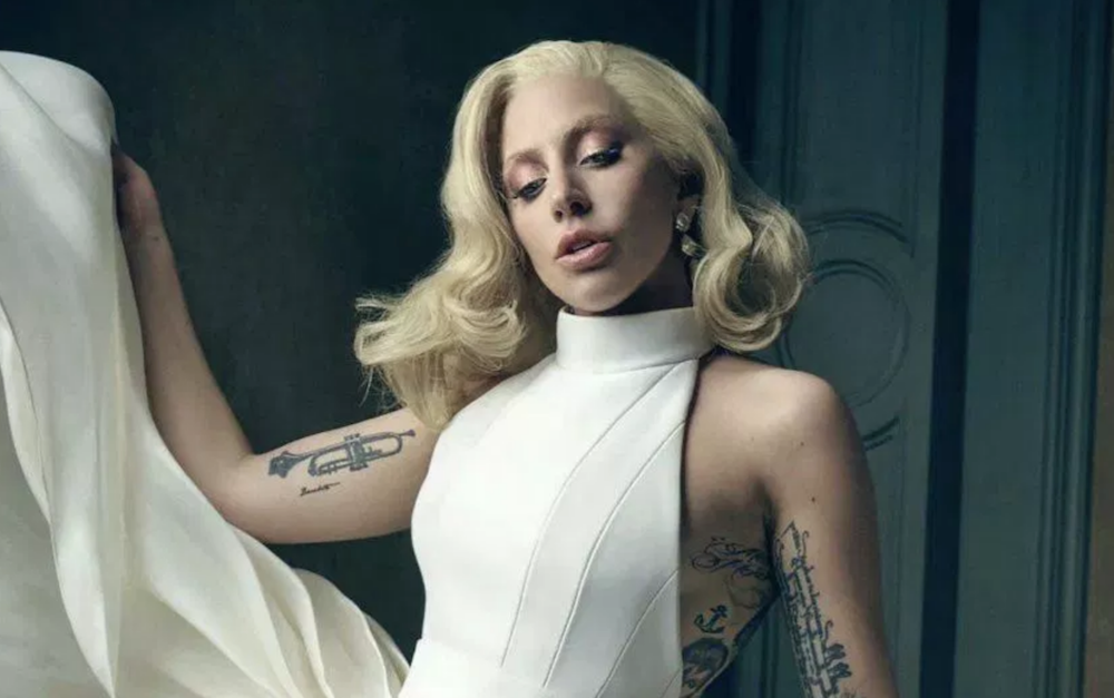 """Lady Gaga says she's """"pregnant"""" with new album"""