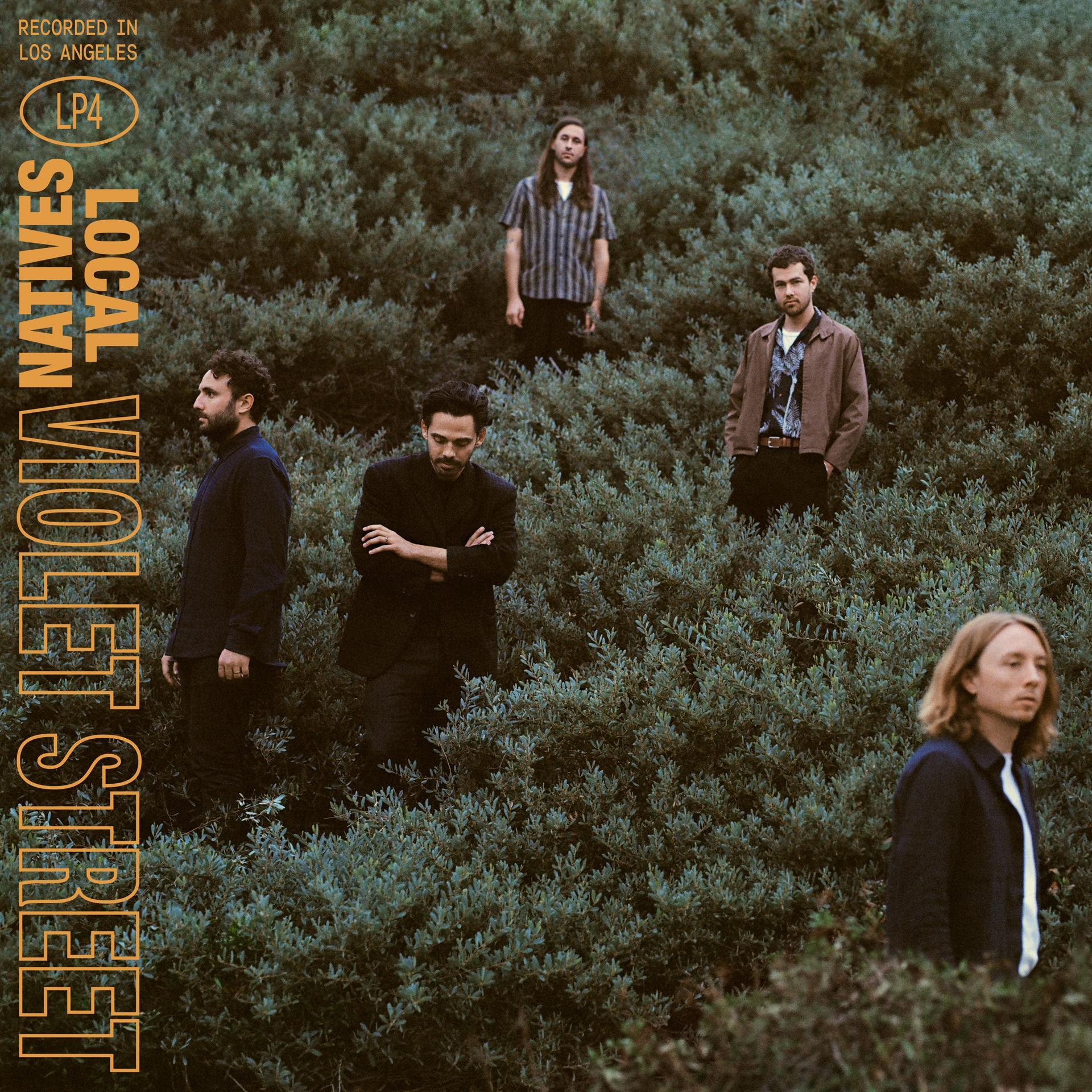 Local Natives, Album Cover, 2019, Violet Street