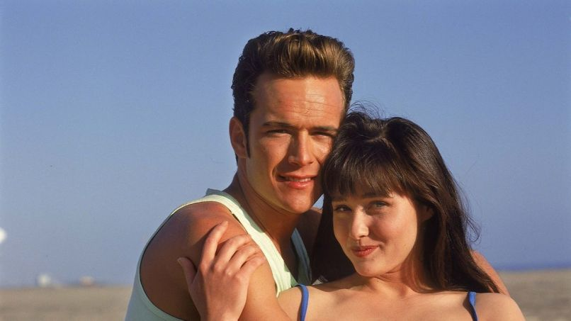 90210, Luke Perry, Shannon Doherty