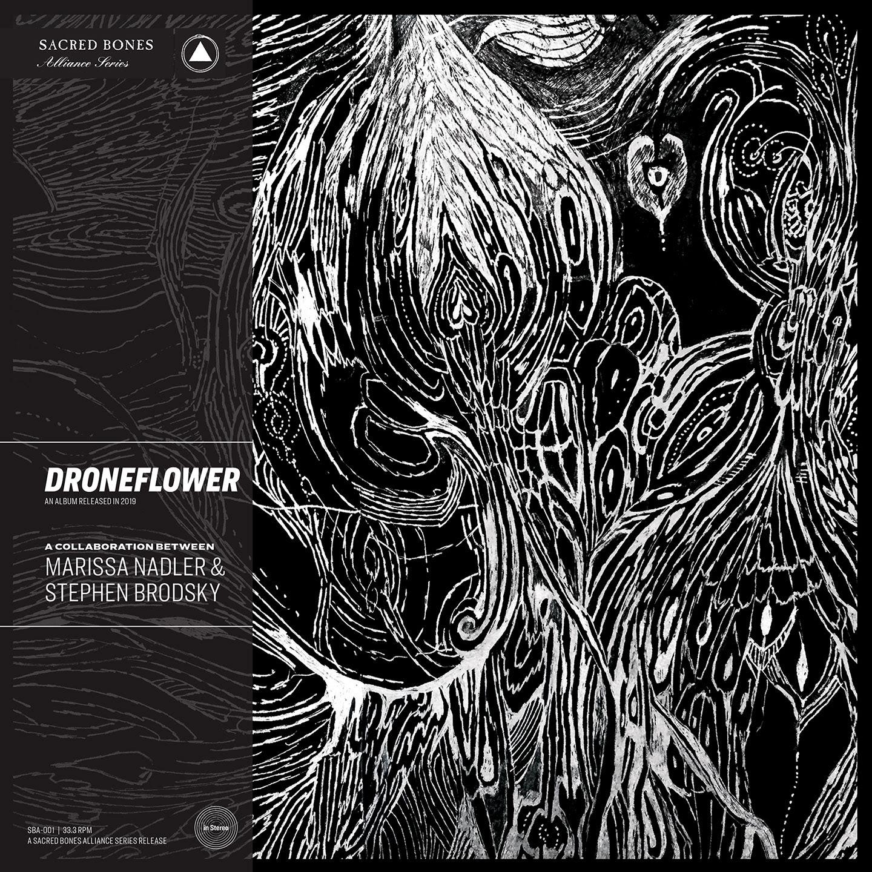 marissa nadler stephen brodsky droneflower collaborative album cover artwork