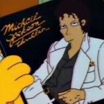 Michael Jackson on The Simpsons