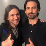 Conor Oberst and Milo Ventimiglia NOT the same person lookalike James Corden