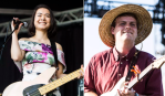 Mitski and Mac DeMarco, photo by Philip Cosores