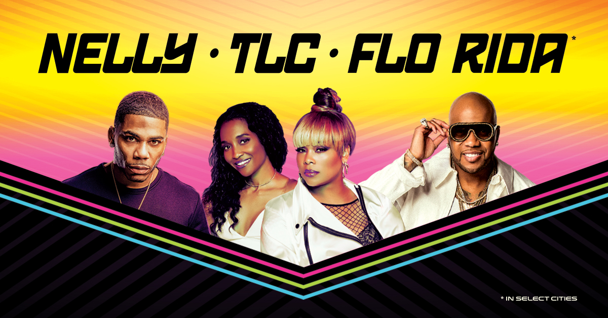 Nelly TLC Flo Rida Summer 2019 Joint Tour Amphitheater