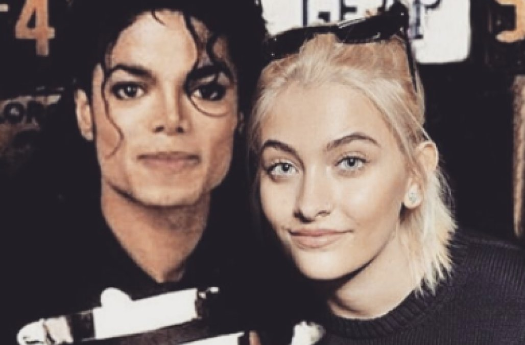 Michael Jackson and Paris Jackson