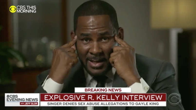 r kelly interview cbs