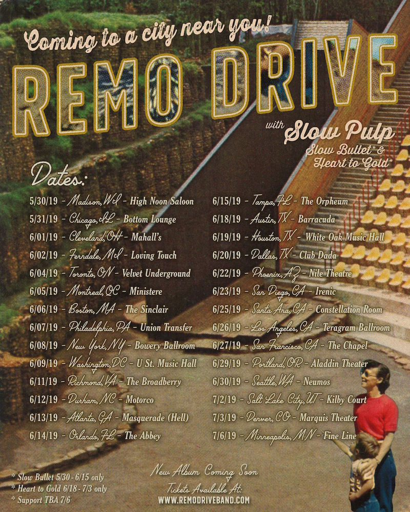 remo drive 2019 tour dates emo rock concerts