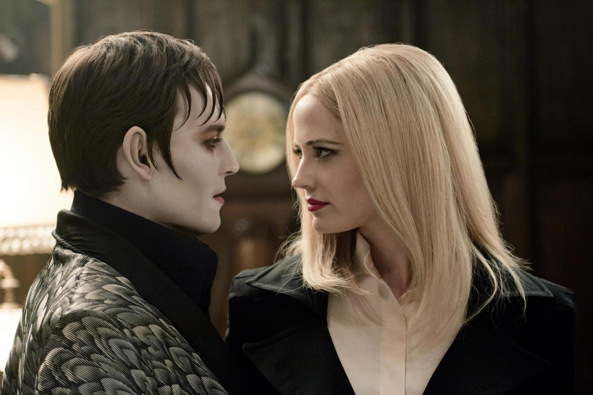 dark shadows johnny depp eva green movie