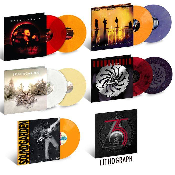Soundgarden Launch 35th Anniversary Vinyl Series