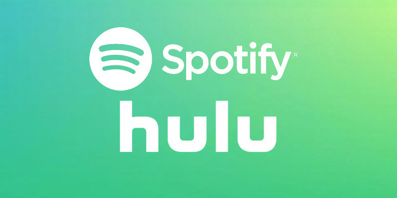 spotify hulu premium subscription combo package deal