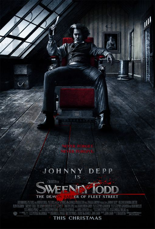 sweeney todd tim burton johnny depp movie