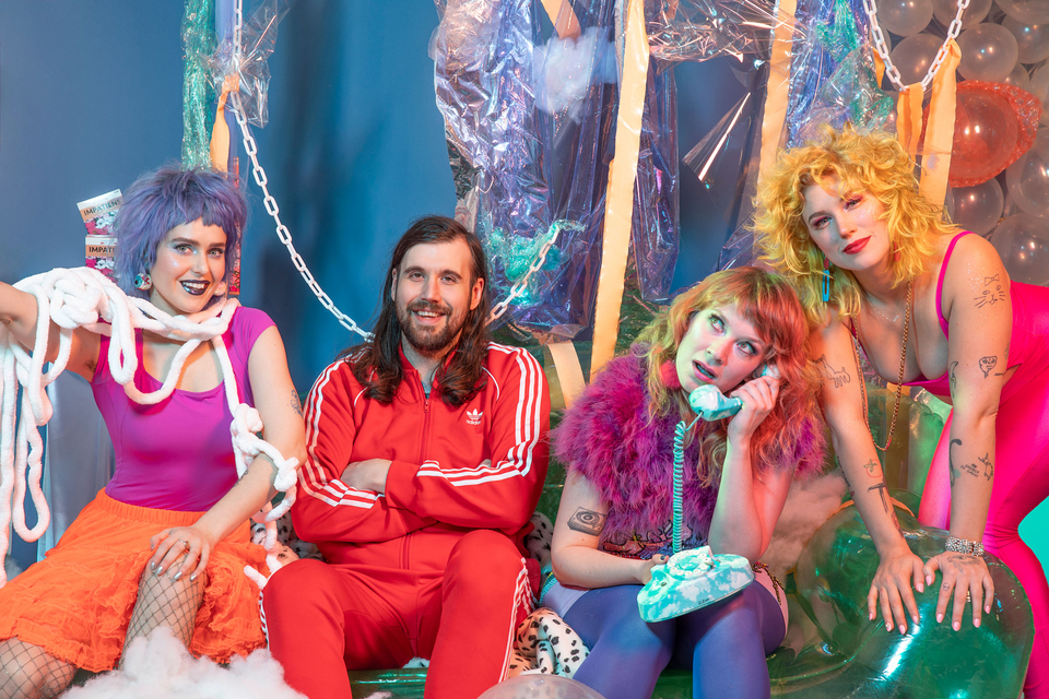 Tacocat 2019 hologram this mess is a place album single record LP new release music Seattle indie pop punk