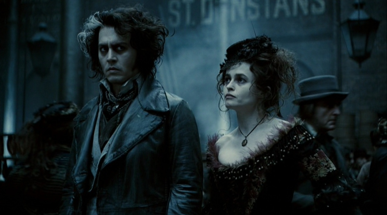 sweeney todd tim burton johnny depp musical movie