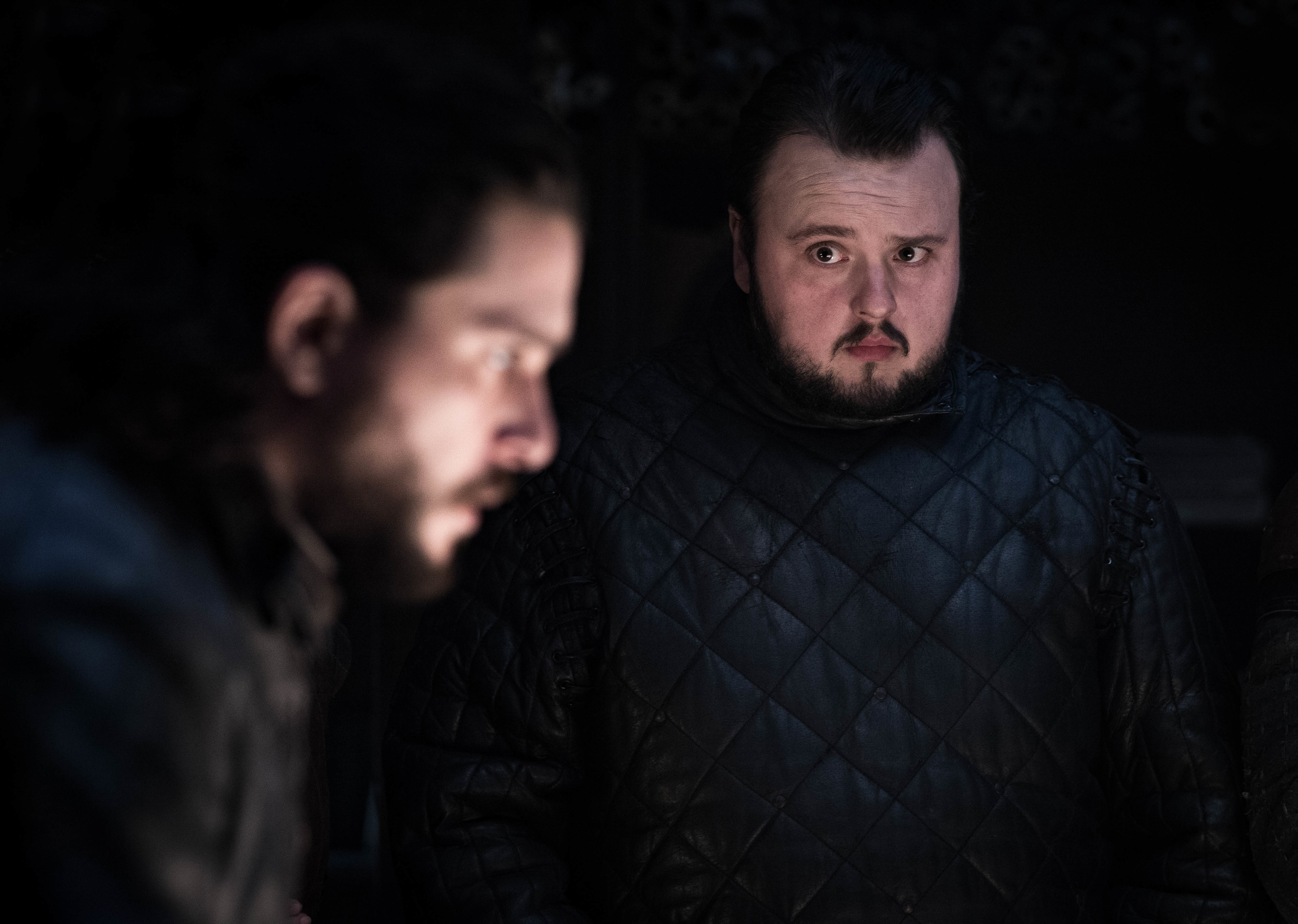 Jon Snow, Sam Tarly, Game of Thrones, HBO