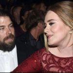 Adele and husband Simon Konecki