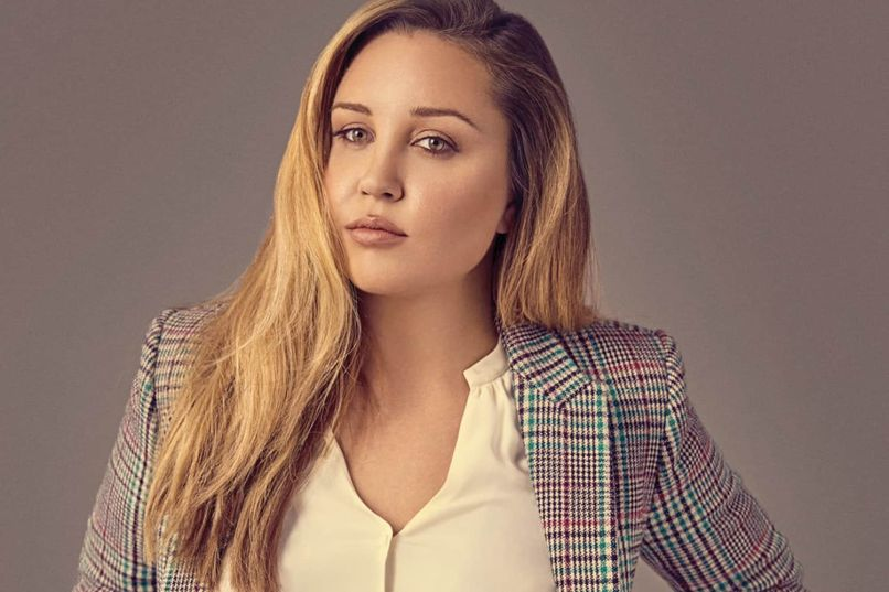 Amanda Bynes in 2018, photo via Paper Mag