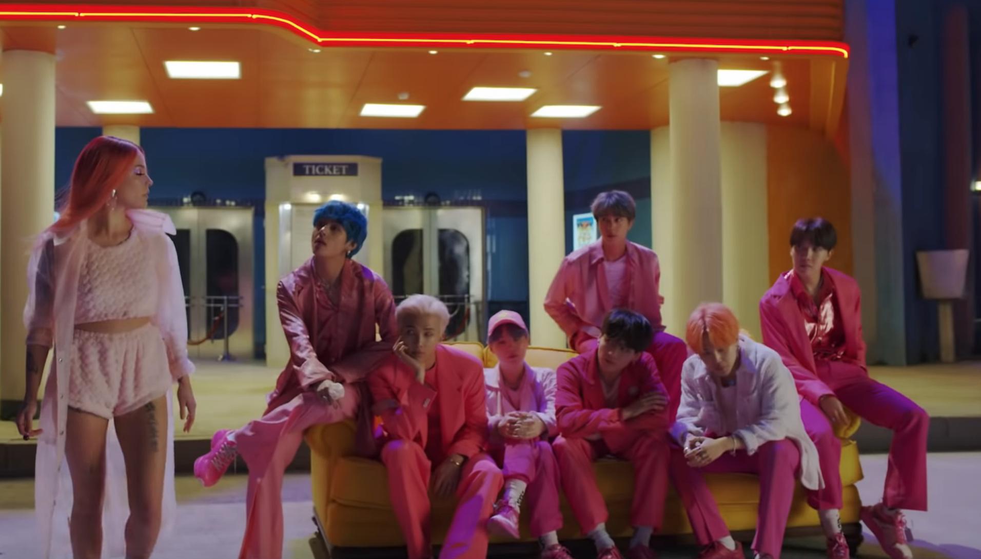 BTS Announces New Single Boy With Luv Unveil Teaser