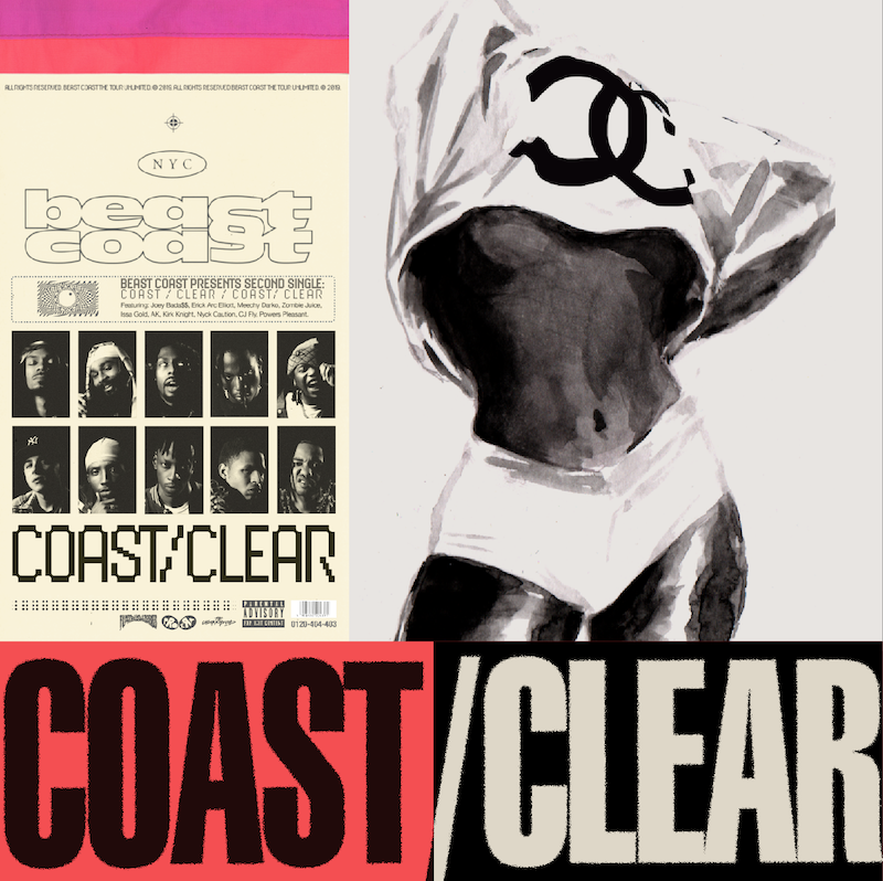 Beast Coast Single Coast Clear Artwork