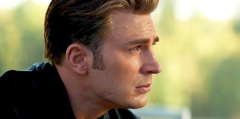 Captain America crying fan sobbing hospital avengers endgame