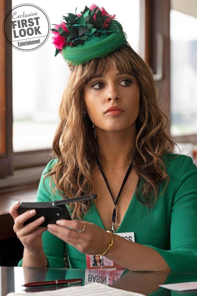 Elizabeth Banks, Kristen Stewart, Ella Balinska, Naomi Scott, Charlie's Angels First Look Photos, screengrab from Entertainment Weekly