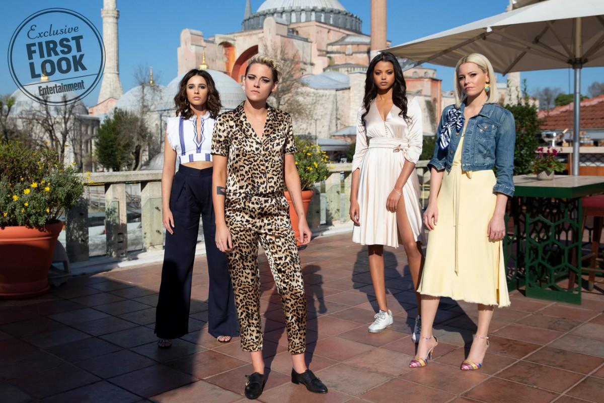 Elizabeth Banks, Kristen Stewart, Ella Balinska, Naomi Scott, Charlie's Angels First Look Photos