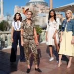 Elizabeth Banks, Kristen Stewart, Ella Balinska, Naomi Scott, Charlie's Angels First Look Photos