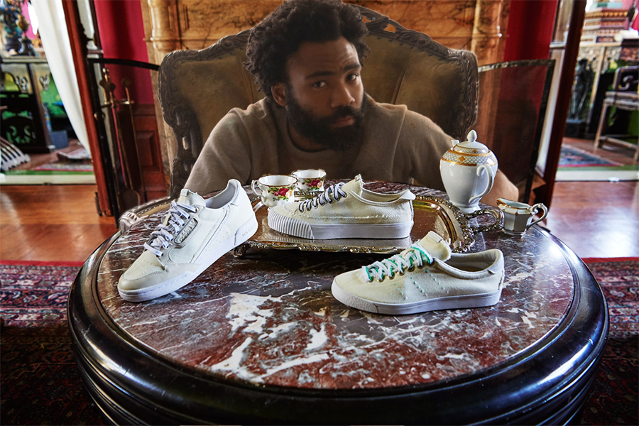 fumar Pilar Descarga  Donald Glover's adidas collaboration features intentionally fraying shoes,  Mo'nique-starring short films: Watch | Consequence of Sound