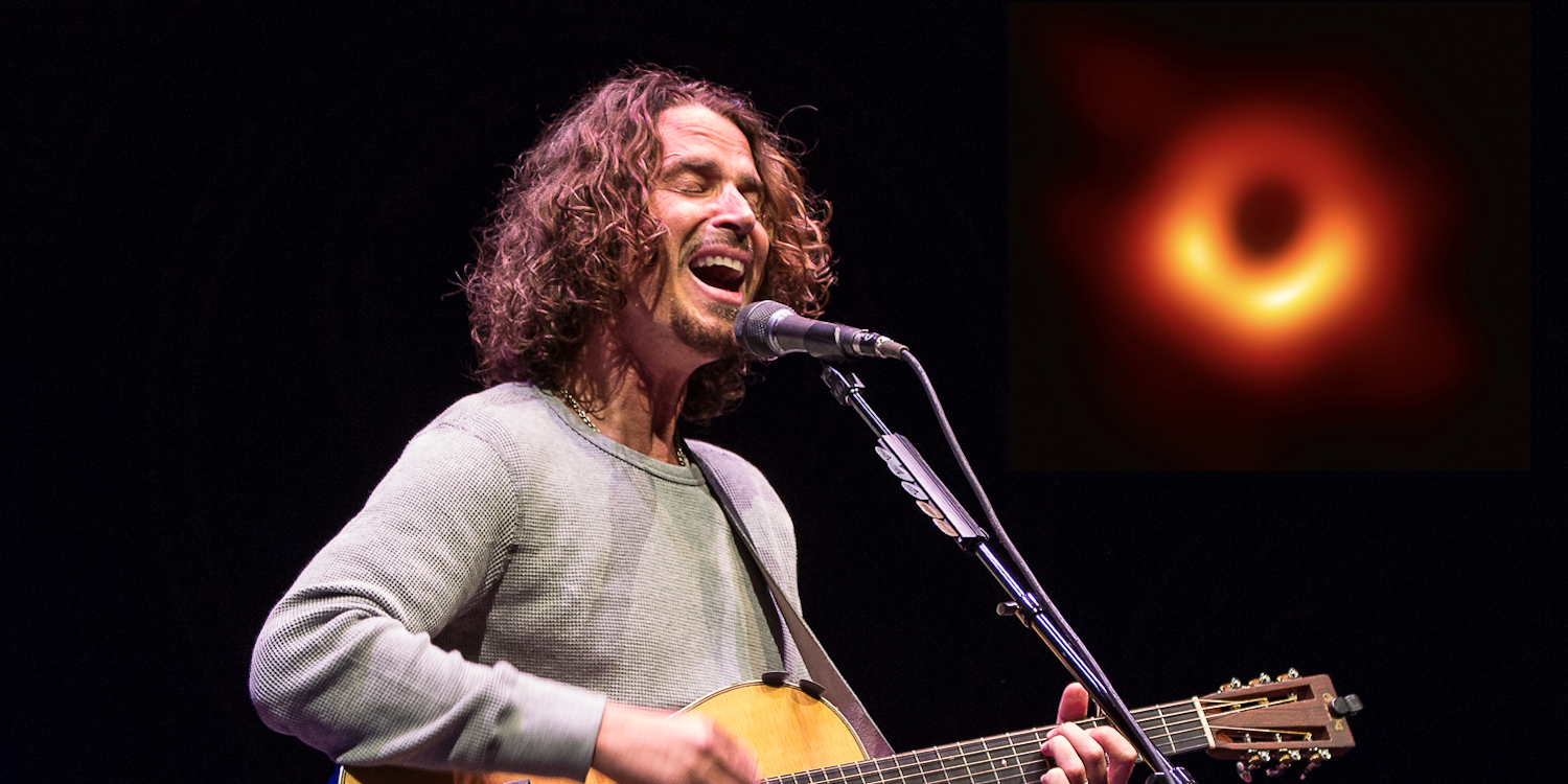 Petition seeks to name newly photographed black hole after Chris Cornell